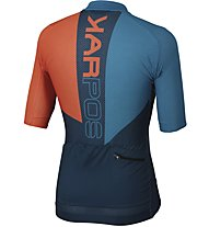 Karpos Verve - Radtrikot MTB - Herren, Orange/Light Blue/Blue