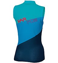 Karpos Verve Sleeveless - Radtrikot ärmellos - Damen, Light Blue