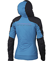 Karpos Vinson W - giacca antivento - donna, Black/Light Blue