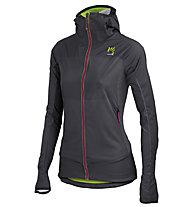 Karpos Wall Pro - giacca con cappuccio trekking - donna, Grey