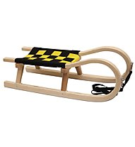 Kathrein Sled Young - slitta giovane, Black/Yellow