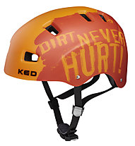 KED 5Forty - casco bici - uomo, Orange