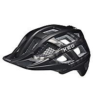 KED Crom - casco bici - uomo, Black/Grey