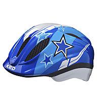 KED Meggy Blue Stars - casco bici - bambino, Blue