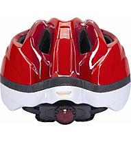 KED Meggy II - casco bici - bambino, Red