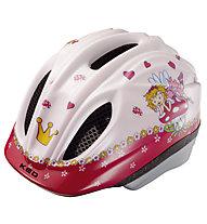 KED Meggy Originals - casco bici - bambino, Rose/Red