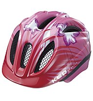 KED Meggy Rescue/Reptile Kinder-Radhelm, Pink Flower