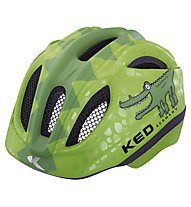 KED Meggy Rescue/Reptile Kinder-Radhelm, Green Coco