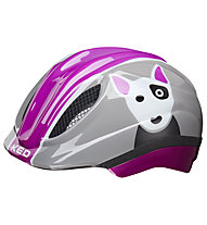 KED Meggy Trend Dog - Radhelm - Kinder, Grey/Violet
