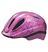 KED Meggy Trend Flower - Radhelm - Mädchen, Pink/Violet