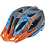 KED Street Pro - casco bici - bambino, Grey/Blue/Orange