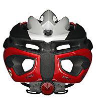 KED Wayron - casco bici da corsa, Grey/Red