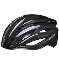 KED Wayron - casco bici da corsa, Black