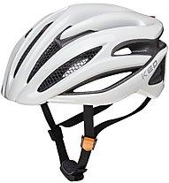 KED Wayron - casco bici da corsa, White