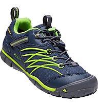 Keen Chandler CNX WP - sandalo trekking - bambino, Blue/Green