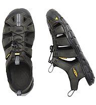 Keen Clearwater CNX Leather - sandali da trekking - uomo, Black