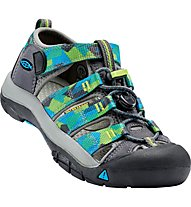 Keen Newport H2 - Trekking Sandalen - Kinder, Grey/Blue