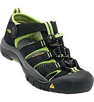 Keen Newport H2 - Trekking Sandalen - Kinder, Black/Green