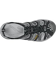 Keen Whisper - Outdoorsandale -  Damen, Black/Grey