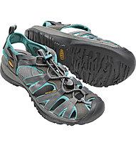 Keen Whisper - sandali outdoor - donna, Blue/Grey