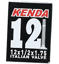 "Kenda Camera d'aria 12"" x 1,75"", Black"