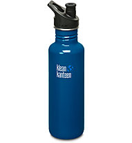 Klean Kanteen Classic Singel Wall Sport Cap 0,8 L - Trinkflasche, Blue