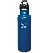 Klean Kanteen Classic Single Wall Loop Cap 0,8 L - Trinkflasche, Blue