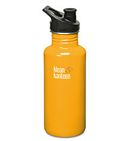 Klean Kanteen Classic Single Wall Sport Cap 0,532 L - Trinkflasche, Yellow