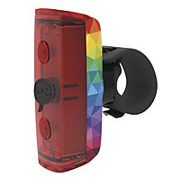 Knog Luce posteriore a LED Pop R, Rainbow