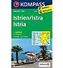 Kompass Karte Nr. 238 Istrien/Istra-Istria, 1:75.000