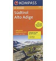 Kompass 3401 Set Südtirol | Alto Adige 1:70.000, 1:70.000