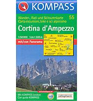 Kompass Karte Nr. 55 1:50.000, 1:50.000