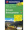 Kompass Carta topografica N. 56 Bressanone - 1:50.000, 1:50.000