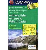 Kompass Carta N° 057 Anterselva - Valle di Casies, 1:25.000