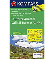 Kompass Carta N° 82 Tures/Valle Aurina / Taufers/Ahrntal 1:50.000, 1:50.000