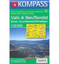 Kompass Carta N° 95 1:50.000, 1:50.000