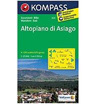 Kompass Carta N.623: Altipiano di Asiago 1:25.000, 1:25.000