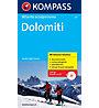 Kompass Atlante scialpinismo Dolomiti, Italian