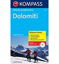 Kompass Atlante scialpinismo Dolomiti - Guide per scialpinismo, Italian
