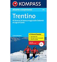 Kompass Atlante N° 584 - Guide per scialpinismo, Italienisch