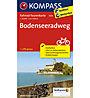 Kompass Carta Nr. 7005 Bodenseeradweg 1:50.000, 1: 50.000