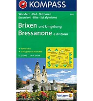 Kompass Karte Nr. 050 Brixen und Umgebung, 1:25.000