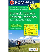 Kompass Carta Nr. 57 Brunico, Dobbiaco, 1:50.000