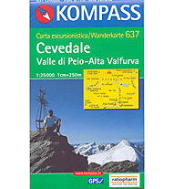 Kompass Karte Nr. 637 1:25.000, 1:25.000