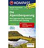 Kompass Karte N.2556: Die Alpenüberquerung 1:50.000, 1:50.000