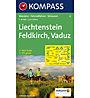 Kompass Carta N.21: Liechtenstein, Feldkirch, Vaduz 1:50.000, 1:50.000