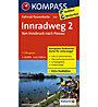 Kompass Carta Nr. 7015 Innradweg 2 Von Innsbruck nach Passau 1:50.000, 1: 50.000