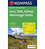 Kompass Karte N.35: Imst, Telfs, Kühtai Mieminger Kette 1:50.000, 1:50.000