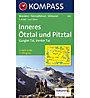 Kompass Carta N.042: Inneres Ötztal und Pitztal - 1:25.000, 1:25.000