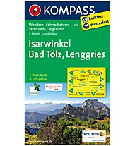 Kompass Carta N.182: Isarwinkel, Bad Tölz, Lenggries 1:50.000, 1:50.000